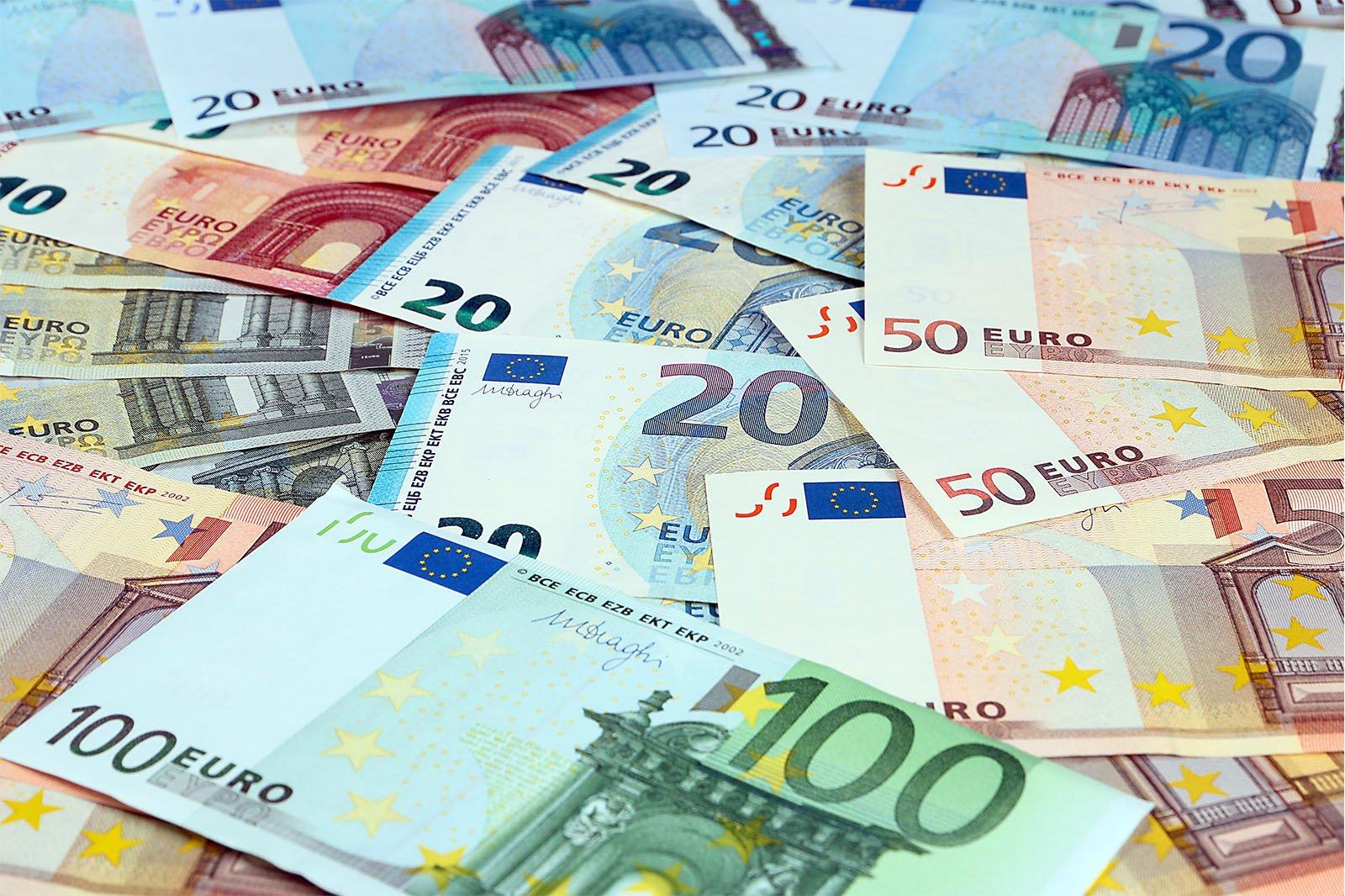 geldscheine euronoten
